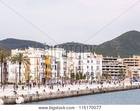 The Ibiza Harbor