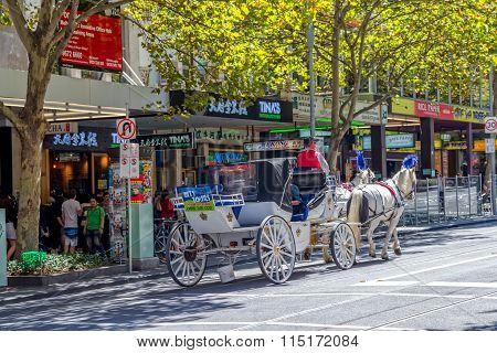 Melbourne tourist coach