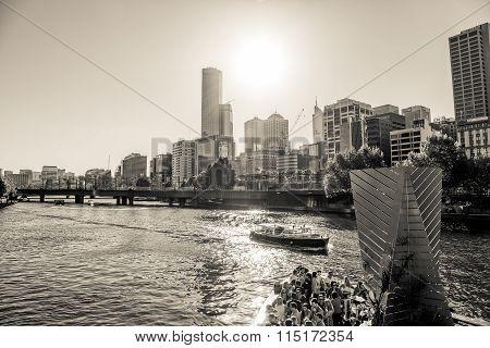 Melbourne black and white