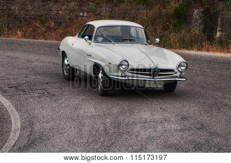 1962 Alfa Romeo Giulietta SS Bertone