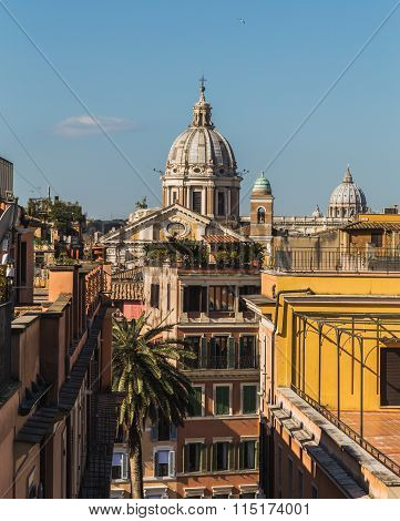 Buildings And Churches In Rome