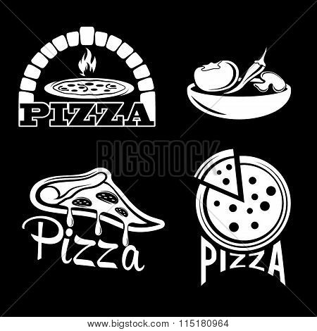 Set For Pizzeria Or Italian Restaurant
