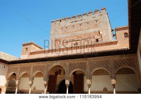 Torre de Comares, Alhambra Palace