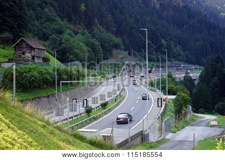 Highway In Gorge