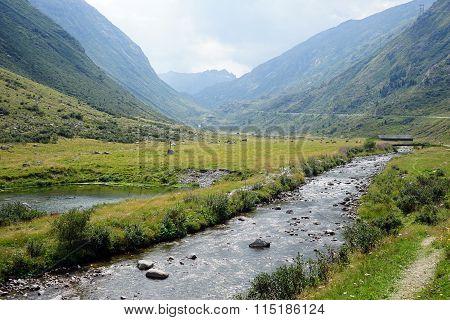 Footpath Near River