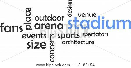 Word Cloud - Stadium