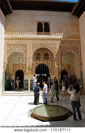 Patio de Mexuar, Alhambra Palace.
