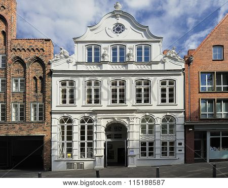 Buddenbrookhaus,  Lubeck, Germany.