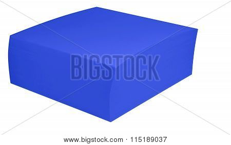 Packed Block Of Note Paper - Blue
