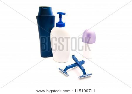Gel, Razors And Deodorant