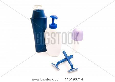 Shower Gel, Razors And Deodorant