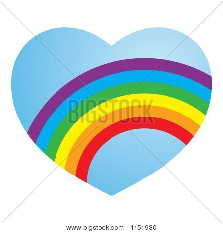 Gay Love Heart