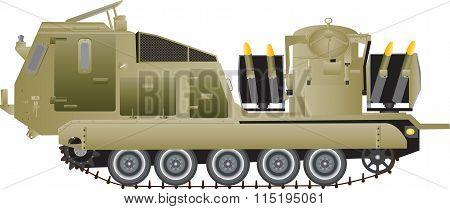 Missile Launching Vehicle