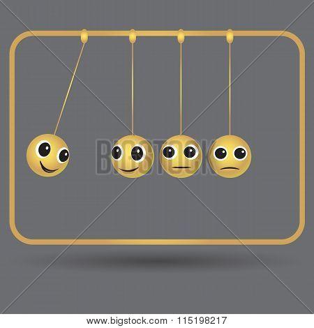 Vector illustration.  Impac business goals concept