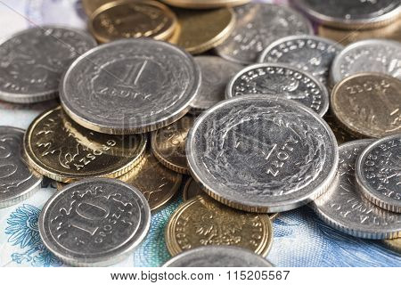 Two One Zloty Coins