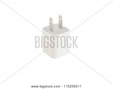 Adapter Charger on white