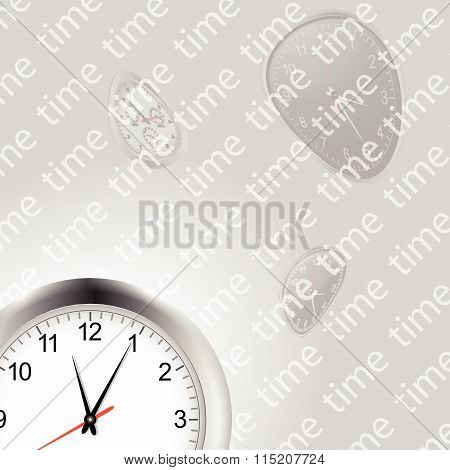 Time And Clocks Background