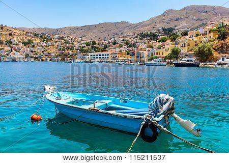 Symi Harbour. Greece