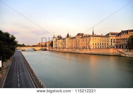 Paris Seine Cityscape