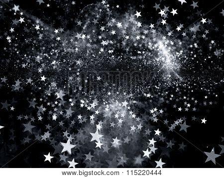 Star Shape Bokeh Intensity Map