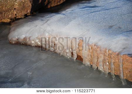 Icy Limestone Detail