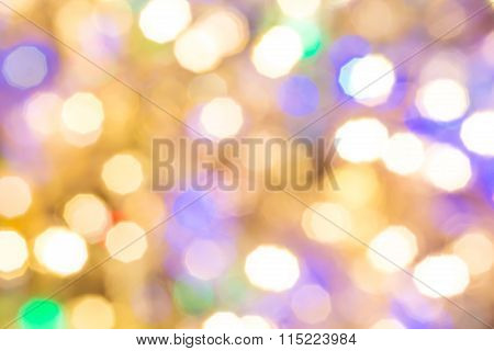 Defocused Abstract Holiday Background