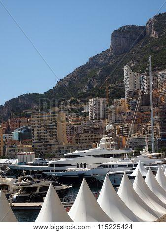 Harbor View  Yachts And Condos Monte Carlo Monaco Europe