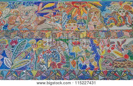 Flinders Street Station mosaic