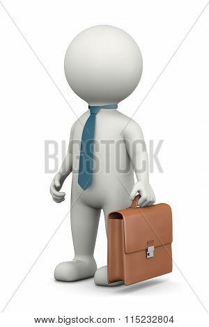 Businessman 3D Character