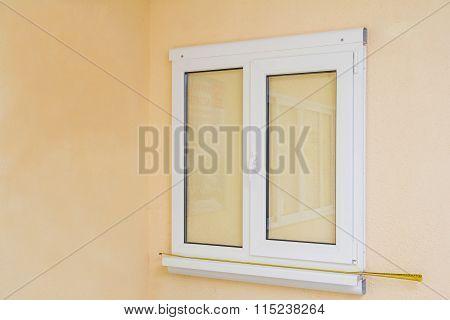 Pvc Plastic Window On The Wall