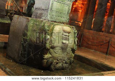Medusa Head in Istanbul