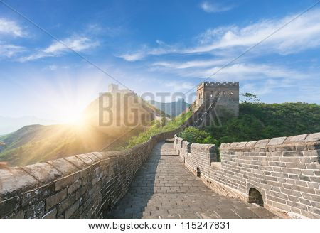 greatwall, the landmark of china, beijing, china.