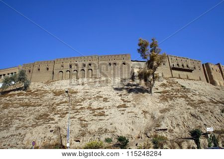 Arbil Castle in Kurdistan