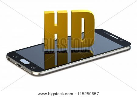 Hd Concept With Smartphone