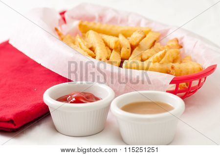 Fries And A Side Of Gravy