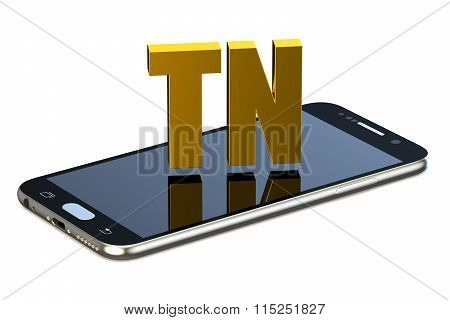 Tn Concept With Smartphone