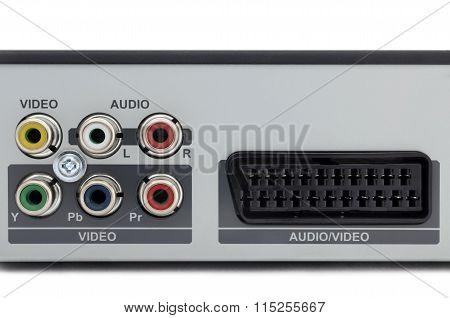 Multimedia Receiver Back Panel