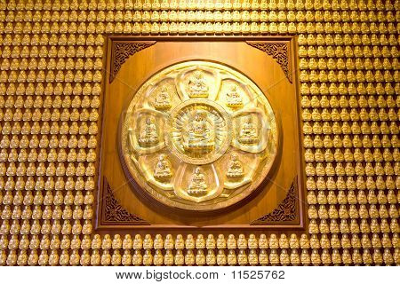 Million Of Golden Buddha Statue
