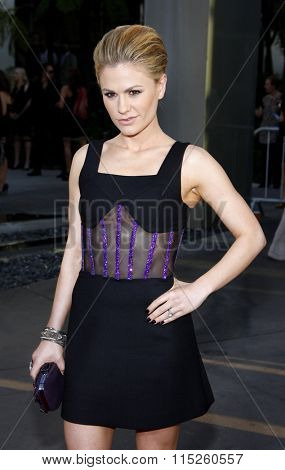 Anna Paquin at the HBO's Season 4 Premiere of