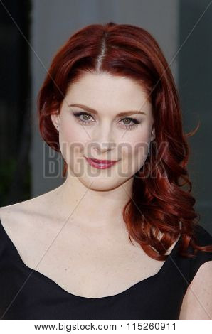 HOLLYWOOD, CALIFORNIA - June 21, 2011. Alexandra Breckenridge at the HBO's season 4 premiere of