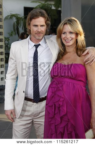 Sam Trammell and Missy Yager at the HBO's Season 4 Premiere of