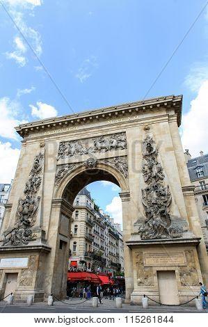 Porte Saint-denis Triumphal Arch