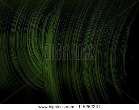 Grunge Dark Green Abstract Background O Texture