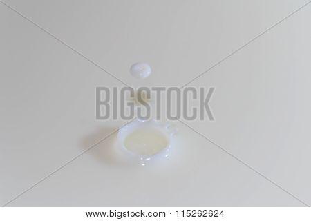 Splashing Milk Drop