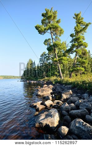 Scenic Wilderness Lake