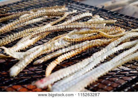 Delicious Grill Fish Bone
