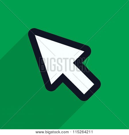 Pointer Icon.vector Illustration.