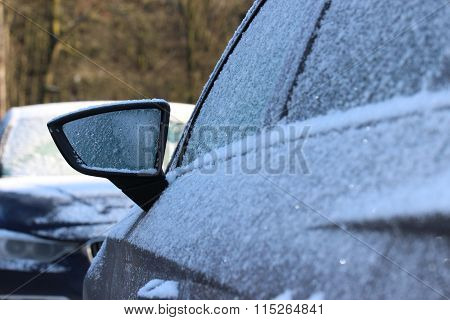 frost during wintertime