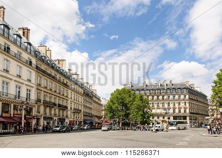 Avenue De L'opera And Rue Saint Honore