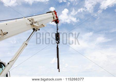Powerful Industrial Crane